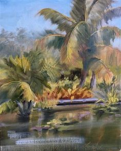 """Daily Paintworks - """"Bright Sunny Day"""" - Original Fine Art for Sale - © Laura  Buxo"""