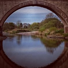 From under a bridge in Aberdeenshire