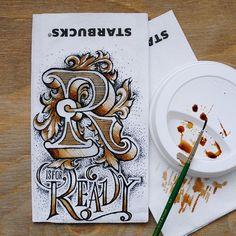 coffee lettering - Buscar con Google
