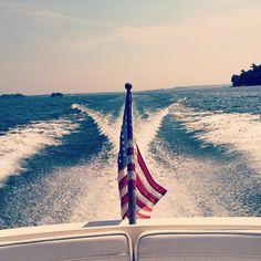 boat. lake. summer.