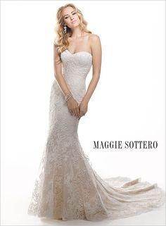 "Maggie Sottero - ""Chesney"" -   Available at Facchianos Bridal www.facchianos.com"