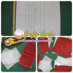 Cotton Garden: 20 card slots wallet Slot, Album, Crafty, Cards, Diy, Sewing, Cotton, Dressmaking, Bricolage