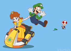 Plumber Snatch (Luigi and Daisy) by Lee-Sanixay.deviantart.com on @DeviantArt