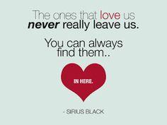 Sirius Black--one of my favorite characters