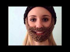 Imagenes BARBAS a crochet (ganchillo) - YouTube