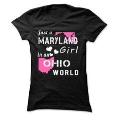 MARYLAND girl in OHIO world