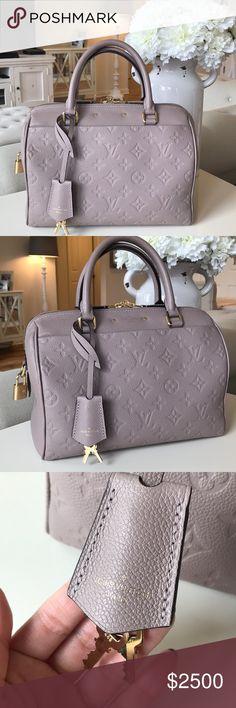 945da641ae Spotted while shopping on Poshmark  Authentic Louis Vuitton Speedy 25  Empreinte!  poshmark