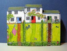 Den Lane Cottages by jamjarart on Etsy