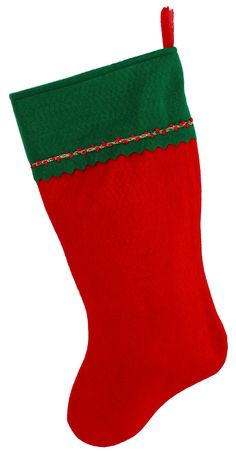 embroidered initial christmas stocking green and red felt initial z visit the image link
