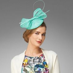 Fine Millinery by August Hat Co Sweet Pea Fascinator Hat