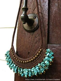 use crochet and beads