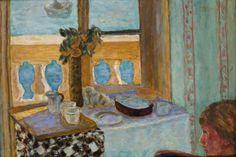 Pierre BONNARD (1867-1947), Intérieur au balcon, 1919, huile sur toile, 52 x 77 cm. © MuMa Le Havre / David Fogel — © ADAGP, Paris, 2013