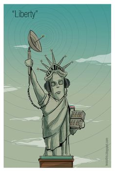 """Liberty"" #cartoon"