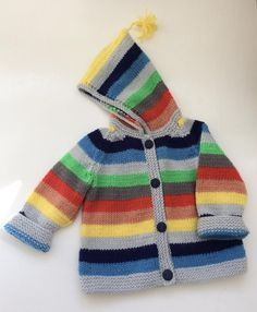 This is a brightly stripy stocking stitch jacket, its full of fun and perfect for when the days start to get a little chilly. So easy to knit, and wear, the one jacket you will pick up every time you leave the house, whether its for a trip to the shops or a romp through the woods. It uses just over 100g of the wonderful Paintbox Simply DK, plus if you have lots of bits and bobs of yarn in your stash this will use them up, if you don't you should take look at the 10g balls in the same yarn...
