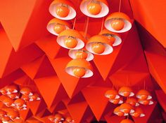 legendary spiegel-cafeteria by verner panton - in my future dining room will definitely be one of these lamps