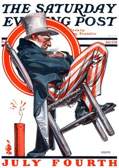 J.C. Leyendecker, July 5, 1924
