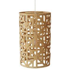 DIY idea -- popsicle stick light fixtures