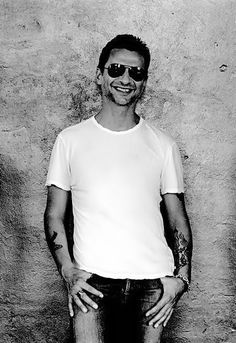 Dave Gahan  Bless you and your voice...luv ya