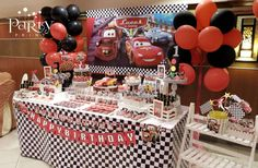 Cars (Disney movie) Birthday Party Ideas | Photo 1 of 23 | Catch My Party