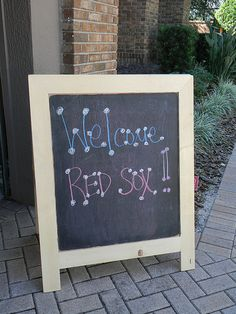 Welcome Signs for any party!