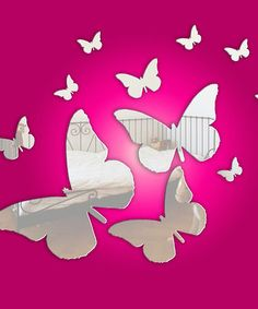Take a look at this Butterflies by Mungai Mirrors on #zulily today!