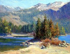 Michael Severin - Silver Lake- Oil - Painting entry - May 2013 | BoldBrush Painting Competition