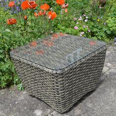 Byron Manor Rufford Rattan Glider Chair | Internet Gardener