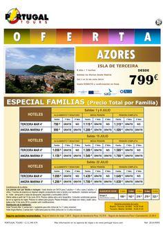 AZORES I. Terceira Especial Familias (8d/7n) del 1-22 julio salida directo Madrid desde 799 € ultimo minuto - http://zocotours.com/azores-i-terceira-especial-familias-8d7n-del-1-22-julio-salida-directo-madrid-desde-799-e-ultimo-minuto/