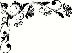 Straight Line Borders Clip Art : Black and white border designs for projects google search