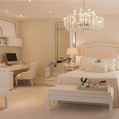 Simply beautiful bedroom