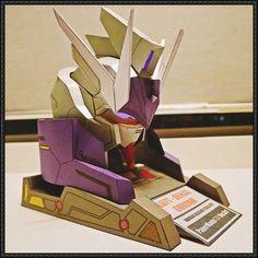 Gundam Build Fighters Try - NK-13J Denial Gundam Head Free Papercraft Download - http://www.papercraftsquare.com/gundam-build-fighters-try-nk-13j-denial-gundam-head-free-papercraft-download.html
