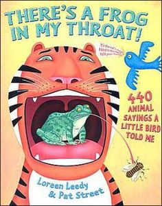 list of books to use to teach idioms!