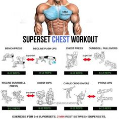 Super chest workout with step by step tips #virileman5