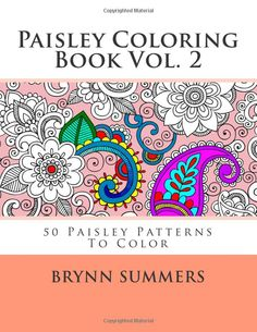 More Fun Paisley Patterns To Color