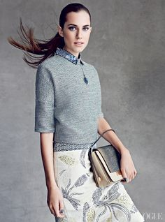 #GIRLS' Allison Williams, pictured in @Vogue Magazine's February 2013 issue