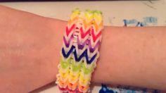 How to Make Rainbow Loom Triple Fishtail