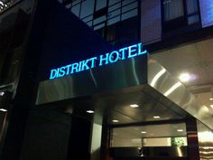 Distrikt Hotel in New York, NY