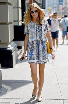 Olivia Palermo Out and about #celebrities #fashion #summer #style
