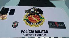 Foto: PMDF/internet/reprodução.     A Rotam (Rondas Ostensivas Táticas Motorizadas) vem atuando os...