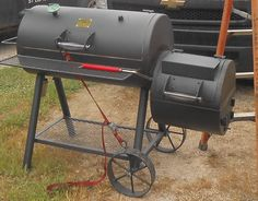 oklahoma joe 39 s highland offset charcoal smoker and grill. Black Bedroom Furniture Sets. Home Design Ideas