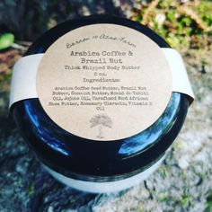 Arnica Coffee & Brazil Nut Thick Whipped Body Butter by Barron10AcreFarm on Etsy