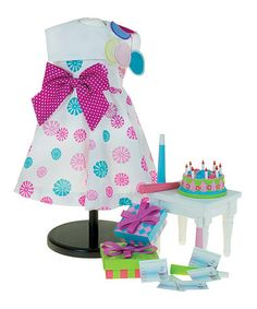 Another great find on #zulily! Birthday Bash for 18'' Doll Set #zulilyfinds