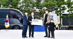 Hyundai Motor Company's Hydrogen Fuel Cell Electric Nexo Surpasses 10,000 in Domestic Sales - FuelCellsWorks Hydrogen Production, Car Delivery, Electric Truck, Hydrogen Fuel, Eco Friendly Cars, Time In The World, Customer Appreciation, Motor Company, New Opportunities