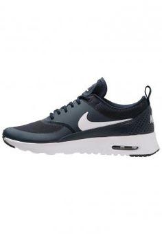 Nike Sportswear - AIR MAX THEA - Baskets basses - obsidian/white