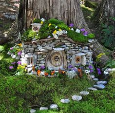 Sally thinks quite a bit about where she'll place her fairy homes in the forest, and since no one will actually see her pieces, the photographs she takes become very important.  #NoteStream #gardening https://itunes.apple.com/app/apple-store/id888917601?pt=10633139&ct=Pinterest&mt=8