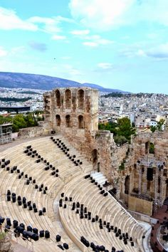 Odeon of Herodes Atticus.  Athens  Greece