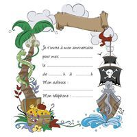 invitation pirates                                                                                                                                                                                 Plus