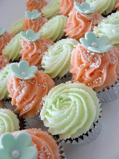 Sweet Flower Cupcakes