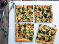Make and share this Roasted Broccoli & Rosemary Tart With Smoked Gouda recipe from Food.com.