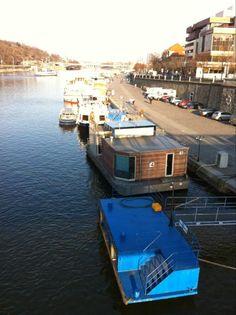 houseboat prague